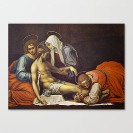 Pieta by Fra Bartolomeo Canvas Print