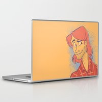 sam smith Laptop & iPad Skins featuring Sam by The Art of Nicole