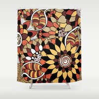 Isobelle. Shower Curtain