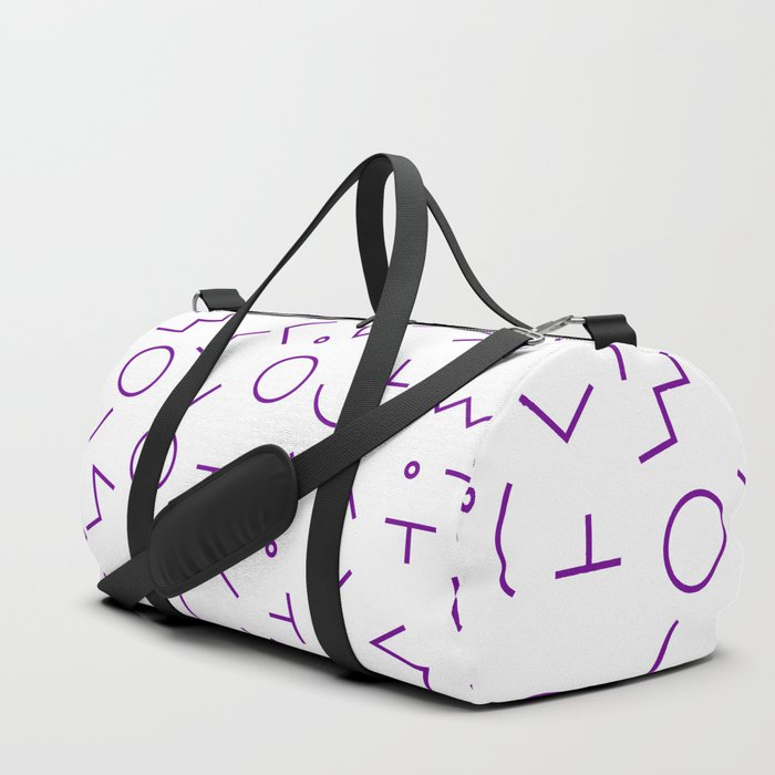 MEMPHIS II ((violet)) Duffle Bag