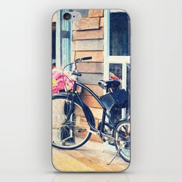Life is Like Riding a Bicycle. iPhone Skin
