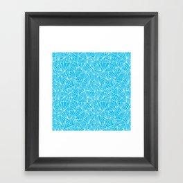 Ab Fan Electric Repeat Framed Art Print