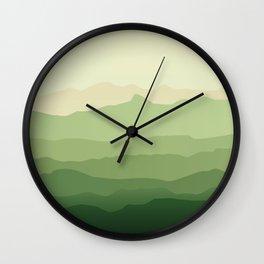Greeny Wall Clock