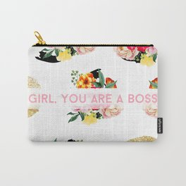 Girl, You Are A Boss Carry-All Pouch