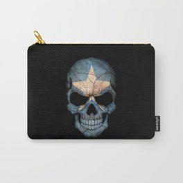 Dark Skull with Flag of Somalia Carry-All Pouch