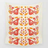friendship Wall Tapestries featuring Friendship Pattern by P.MaGeebs