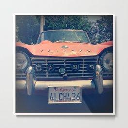 Vintage Triumph Metal Print