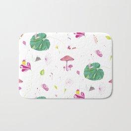 Big Green Leaf Bath Mat