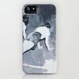 Push-ups iPhone Case
