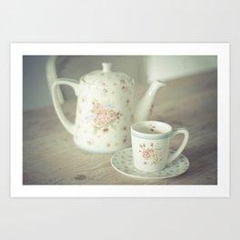 Time For Tea Art Print