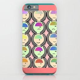 HAPPY FACES, SAD FACES iPhone Case