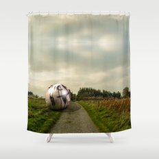 the north Shower Curtain