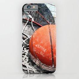 Modern Basketball Art 8 iPhone Case
