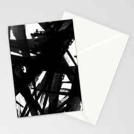 Abstract Strokes Stationery Cards