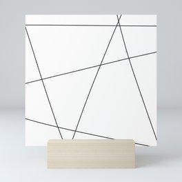 Minimalist Line Art Mini Art Print