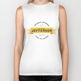 State of Jefferson 75th Anniversary Logo Biker Tank