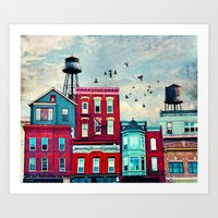 A North Avenue Art Print