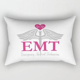EMT Emergency Medical Technician  Rectangular Pillow