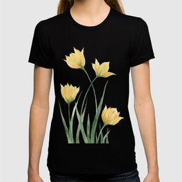 Yellow Woodland Tulips T-shirt