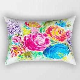 Emma's Garden Rectangular Pillow
