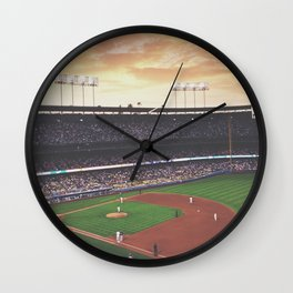 Dodger Stadium Wall Clock