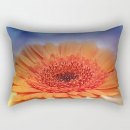 take time to look at flowers -23- Rectangular Pillow