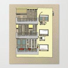 Building nr3 Canvas Print