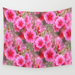 Love of Petunias.... Wall Tapestry