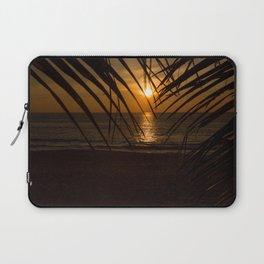 Sunset on the sea Laptop Sleeve