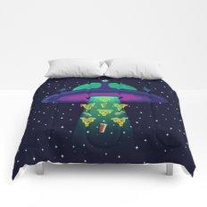 Alien Munchies Comforters