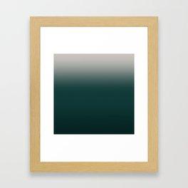 Dark Emerald N4 Framed Art Print