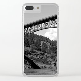 Deception Pass Clear iPhone Case