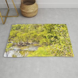 The Edge of the River Rug