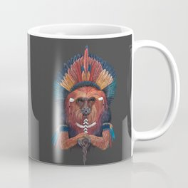 Monkey Tribal Coffee Mug