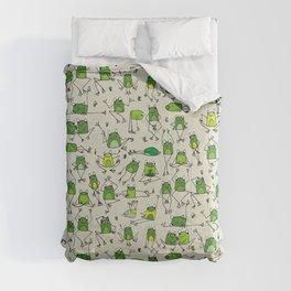 Happy Frogs Comforters