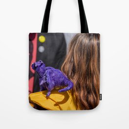 Kitty Pryde and Lockheed of the X-Men tries to discipline Quentin Tote Bag