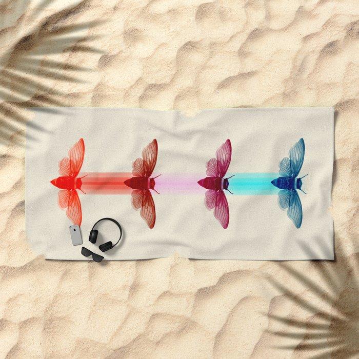 La Polilla Beach Towel