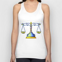 scales Tank Tops featuring Scales Knot by Knot Your World