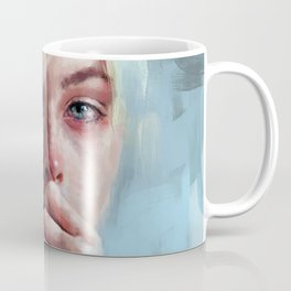 crying portrait Coffee Mug