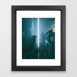 RECKONING (everyday 02.27.17) Framed Art Print