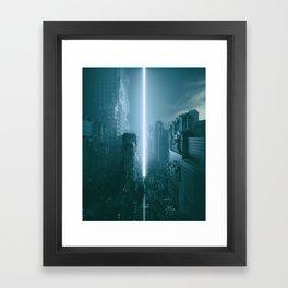 RECKONING (everyday 02.27.17) Framed Art Print