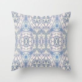 Pattern of clouds 03 Throw Pillow