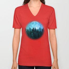 Moon Forest Unisex V-Neck