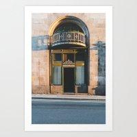 Sunlight House Doorway Art Print