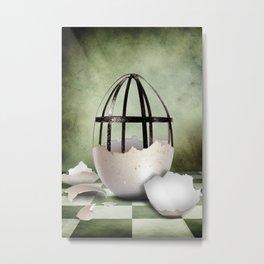 Egg Metal Print