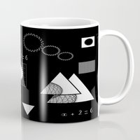 math Mugs featuring math by BruxaMagica