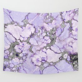 Lavender Marble Wall Tapestry