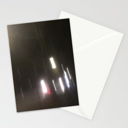 Abstracte Light Art in the Dark 2 Stationery Cards