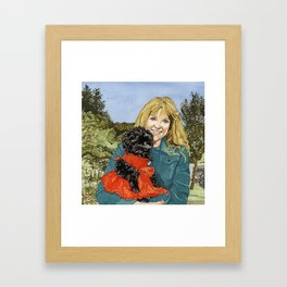 Sherry & Du Framed Art Print