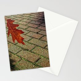 First Leave Of Autumn Stationery Cards